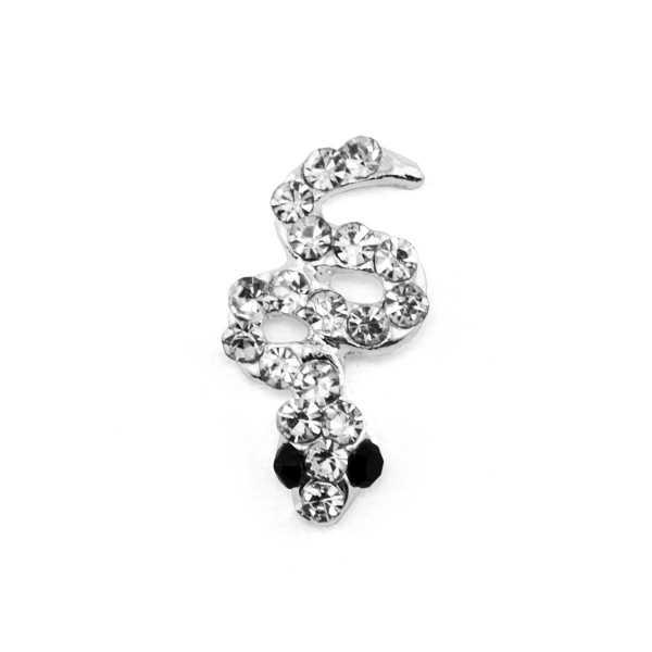 Bijoux pour ongles - Serpent à strass