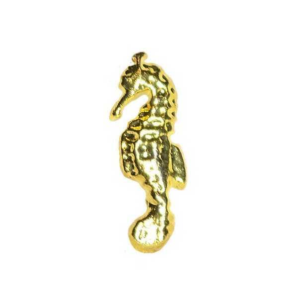 Bijoux pour ongles - Hippocampe dorée