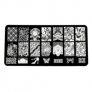 Plaque de stamping rectangulaires