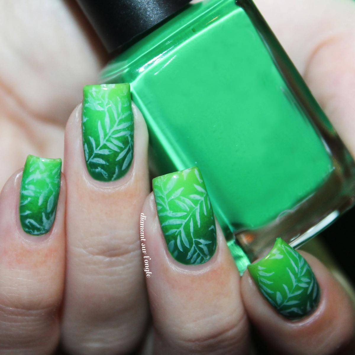 Nail art tropiclal