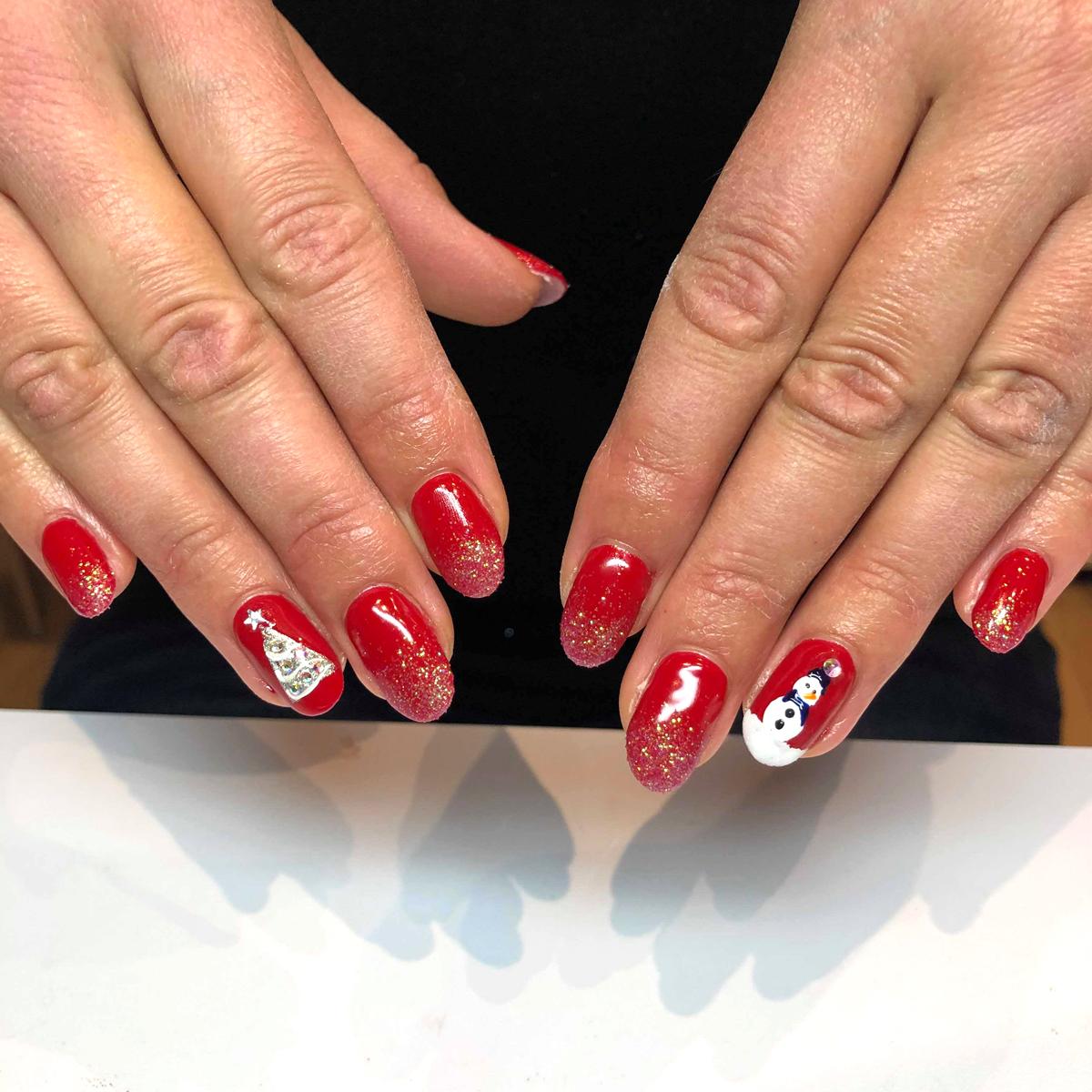 nail art de Noel