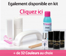 Kit vernis semi-permanent et lampe LED