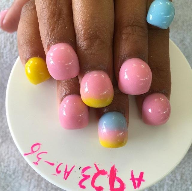 nouvelle tendance nail art la bubble manicure With couleur pastel pour salon 5 nouvelle tendance nail art la bubble manicure