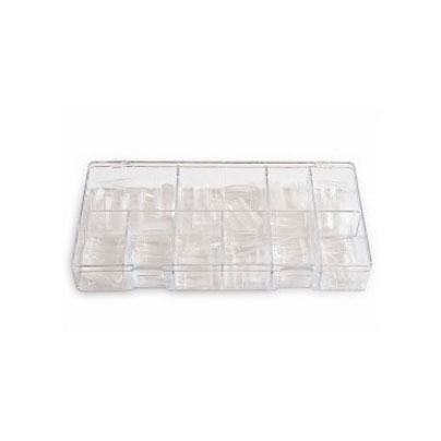 capsules transparenet pour pose d'ongles en gel uv