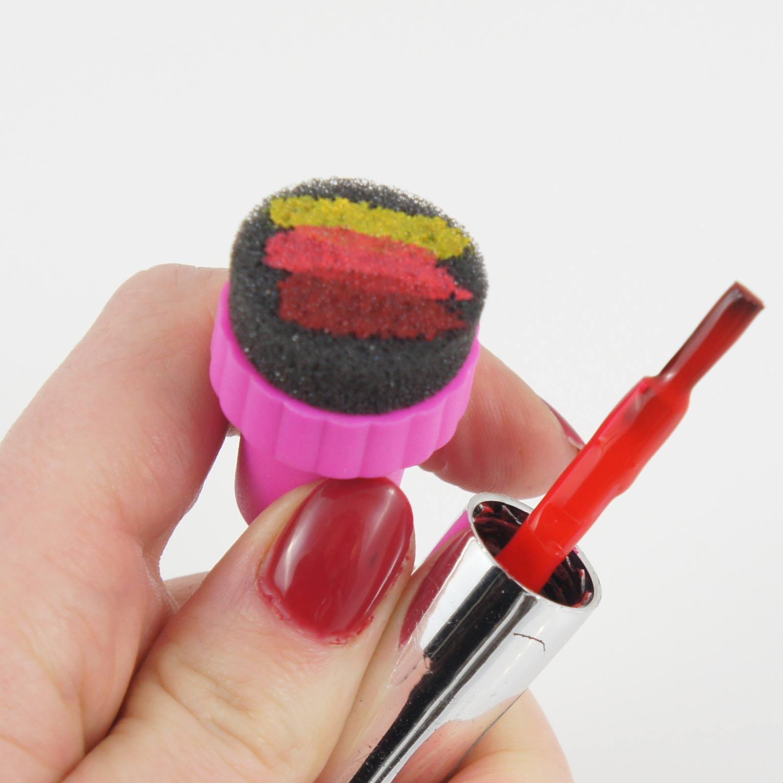 éponge à dégradé nail art